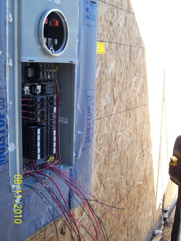 electricians contractors meter panels installations. Black Bedroom Furniture Sets. Home Design Ideas